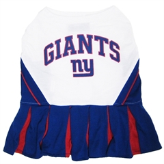 Mirage Pet Products New York Giants Cheer Leading SM