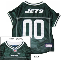 Mirage Pet Products New York Jets Jersey Large