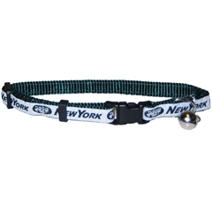 Mirage Pet Products New York Jets Cat Collar