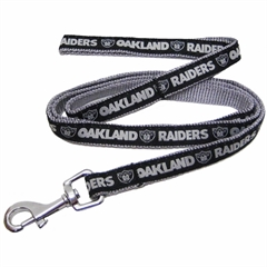 Mirage Pet Products Oakland Raiders Leash Medium