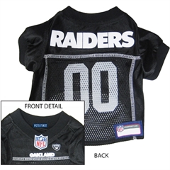 Mirage Pet Products Oakland Raiders Jersey Small