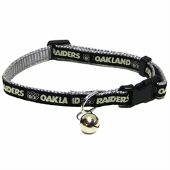 Mirage Pet Products Oakland Raiders Cat Collar