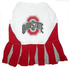 Mirage Pet Products Ohio State Buckeyes Cheer Leading MD