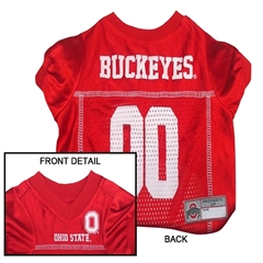 Mirage Pet Products Ohio State Buckeyes Jersey Large