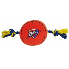 Mirage Pet Products Oklahoma City Thunder Ball Toy