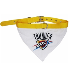 Mirage Pet Products Oklahoma City Thunder Bandana Collar Medium