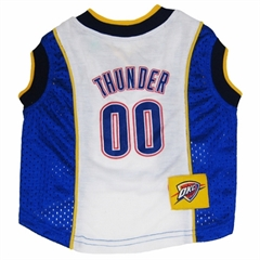 Mirage Pet Products Oklahoma City Thunder Jersey Medium