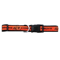 Mirage Pet Products Oklahoma State Cowboys Collar Medium