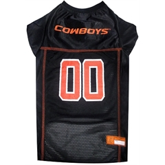Mirage Pet Products Oklahoma State Cowboys Jersey Medium