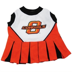 Mirage Pet Products Oklahoma State Cowboys Cheer Leading MD