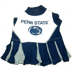 Mirage Pet Products Penn State Nittany Lions Cheer Leading XS