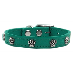 Mirage Pet Products Paw Leather  Jade 14