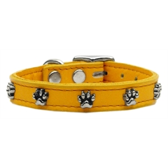 Mirage Pet Products Paw Leather  Mandarin 22