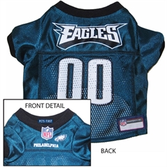 Mirage Pet Products Philadelphia Eagles Jersey Large