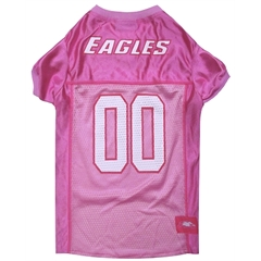 Mirage Pet Products Philadelphia Eagles Pink Jersey XS