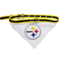 Mirage Pet Products Pittsburgh Steelers Bandana Small