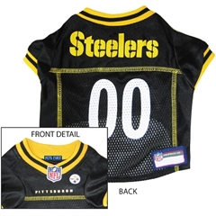 Mirage Pet Products Pittsburgh Steelers Jersey Small