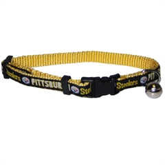 Mirage Pet Products Pittsburgh Steelers Cat Collar