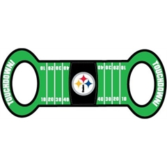 Mirage Pet Products Pittsburgh Steelers Field Tug Toy
