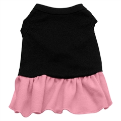 Mirage Pet Products Plain Dress Black with Pink XXL (18)