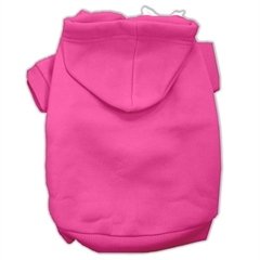 Mirage Pet Products Blank Hoodies Bright Pink Size XS (8)