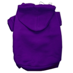 Mirage Pet Products Blank Hoodies Purple Size XXXL(20)