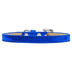 Mirage Pet Products Plain Ice Cream Collars Blue 8
