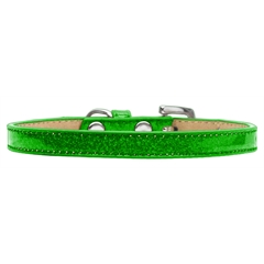 Mirage Pet Products Plain Ice Cream Collars Lime Green 12