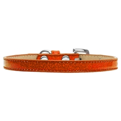Mirage Pet Products Plain Ice Cream Collars Orange 8