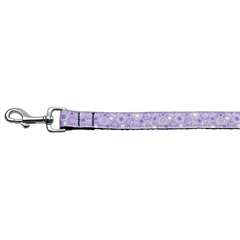 Mirage Pet Products Retro Nylon Ribbon Collar Lavender 1 wide 4ft Lsh