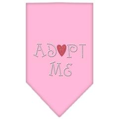 Mirage Pet Products Adopt Me Rhinestone Bandana Light Pink Small
