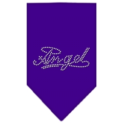 Mirage Pet Products Angel Rhinestone Bandana Purple Small