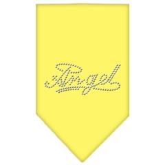 Mirage Pet Products Angel Rhinestone Bandana Yellow Small