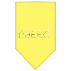 Mirage Pet Products Cheeky Rhinestone Bandana Yellow Small