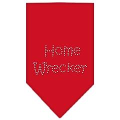 Mirage Pet Products Home Wrecker Rhinestone Bandana Red Large