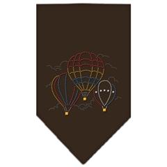 Mirage Pet Products Hot Air Balloons Rhinestone Bandana Cocoa Large