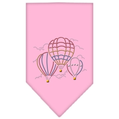 Mirage Pet Products Hot Air Balloons Rhinestone Bandana Light Pink Small