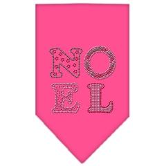 Mirage Pet Products Noel Rhinestone Bandana Bright Pink Small