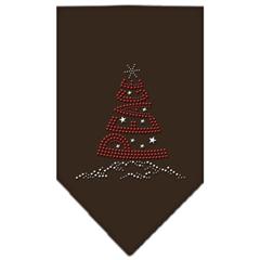 Mirage Pet Products Peace Tree Rhinestone Bandana Cocoa Small