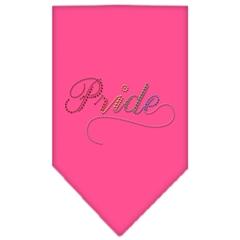 Mirage Pet Products Pride Rhinestone Bandana Bright Pink Small