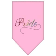 Mirage Pet Products Pride Rhinestone Bandana Light Pink Small