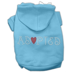 Mirage Pet Products Adopted Hoodie Baby Blue M (12)