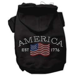 Mirage Pet Products Classic American Hoodies Black M (12)