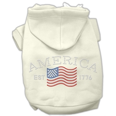 Mirage Pet Products Classic American Hoodies Cream XL (16)