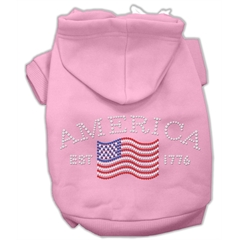 Mirage Pet Products Classic American Hoodies Pink XL (16)