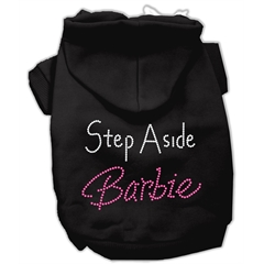 Mirage Pet Products Step Aside Barbie Hoodies Black XS (8)