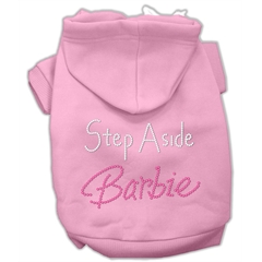 Mirage Pet Products Step Aside Barbie Hoodies Pink XXL (18)