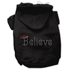 Mirage Pet Products Believe Hoodies Black L (14)