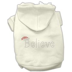Mirage Pet Products Believe Hoodies Cream XL (16)