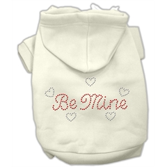 Mirage Pet Products Be Mine Hoodies Cream M (12)